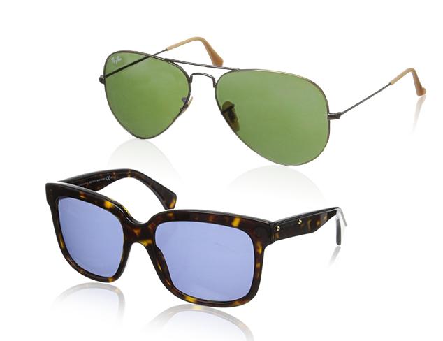 Modern Classics Sunglasses feat. Alexander McQueen at MYHABIT