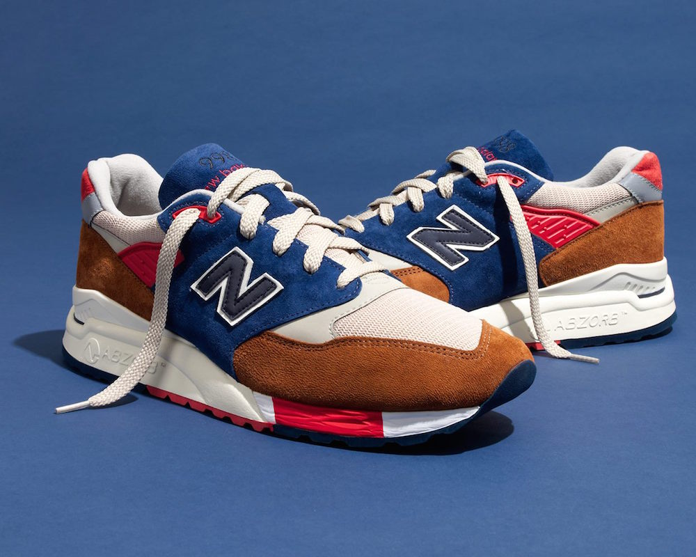 New Balance for J.Crew 998 Hilltop Blues Sneakers