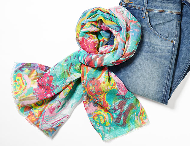 Pair with Denim Scarves at MYHABIT