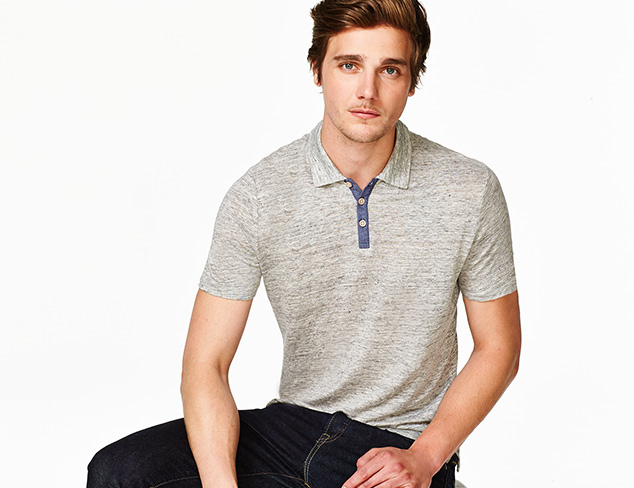 Preppy & Polished Polos, Tees & More at MYHABIT