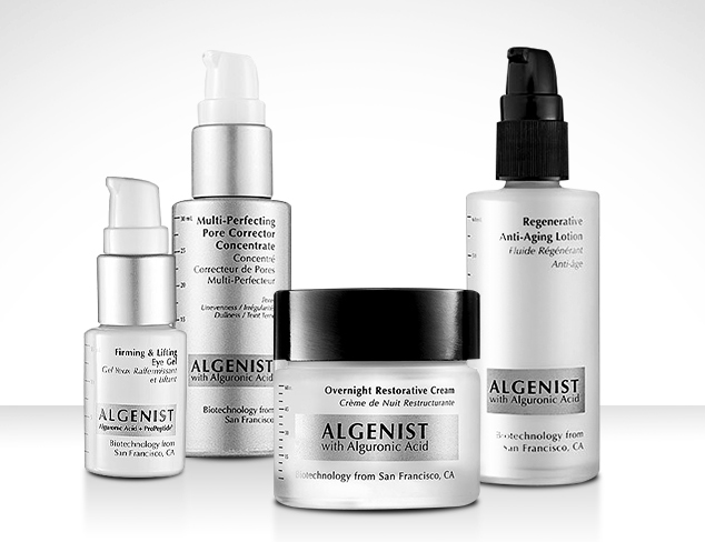 Skincare feat. Algenist at MYHABIT