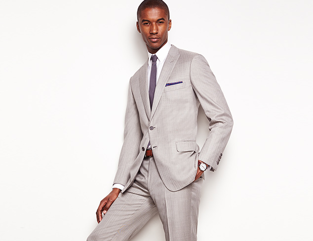 Suiting from Brioni, Hickey Freeman & More at MYHABIT