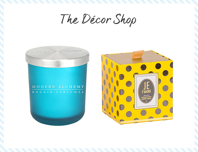 The Décor Shop Candles, Scents & Candleholders at MYHABIT