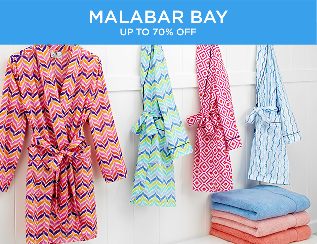 Up to 70 Off Malabar Bay at MYHABIT