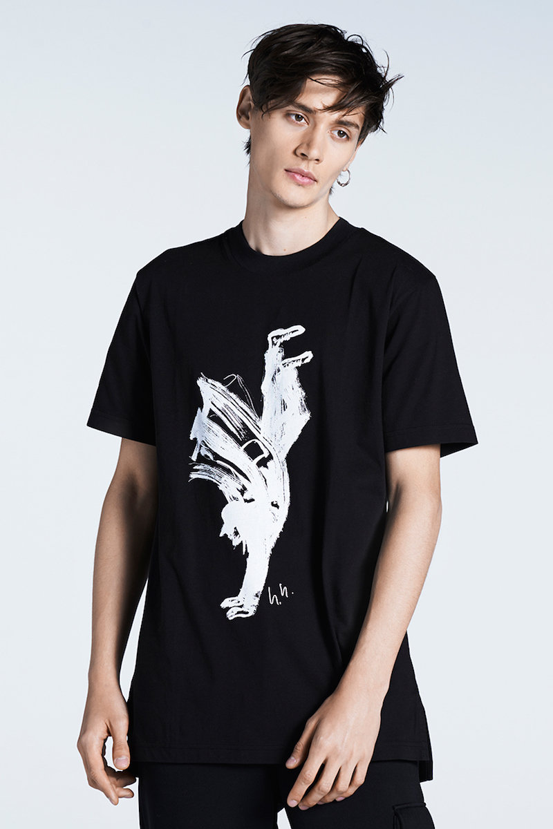 Y-3 x MATCHESFASHION.COM Yohji-print T-shirt