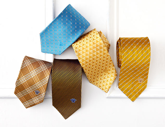 $14 & Up Ties feat. Burberry & Versace at MYHABIT