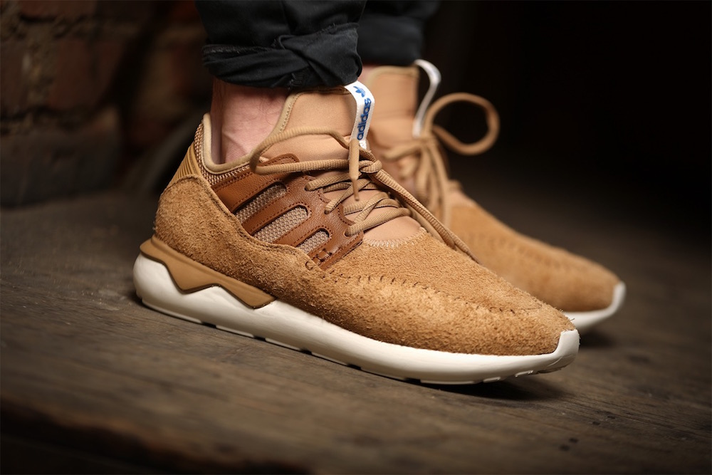 adidas Tubular Moc Runner Shoes in Cardboard/Timber
