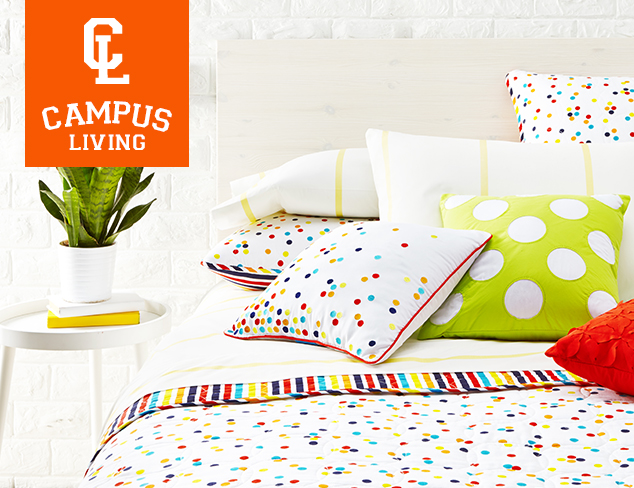 Campus Living Bedding & PJs at MYHABIT