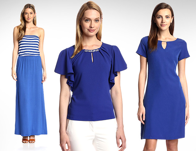 Color Cues Shades of Blue at MYHABIT