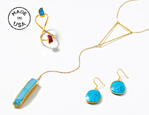 Made in the USA Jewelry at MYHABIT