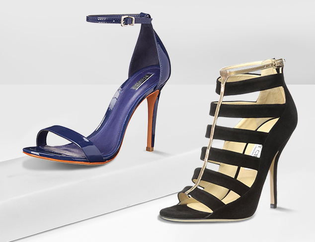 The Strappy Sandal at MYHABIT