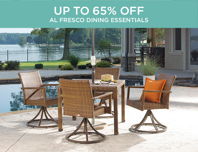 Up to 65 Off Al Fresco Dining Essentials at MYHABIT