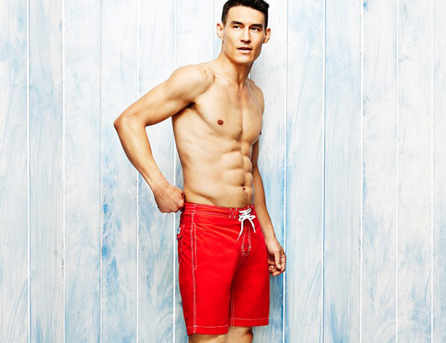 Up to 70 off Swim for Him at MYHABIT
