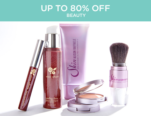 Up to 80 Off Beauty at MYHABIT
