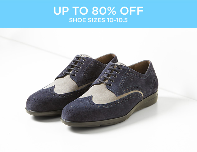 Up to 80 Off Shoe by Sizes at MYHABIT