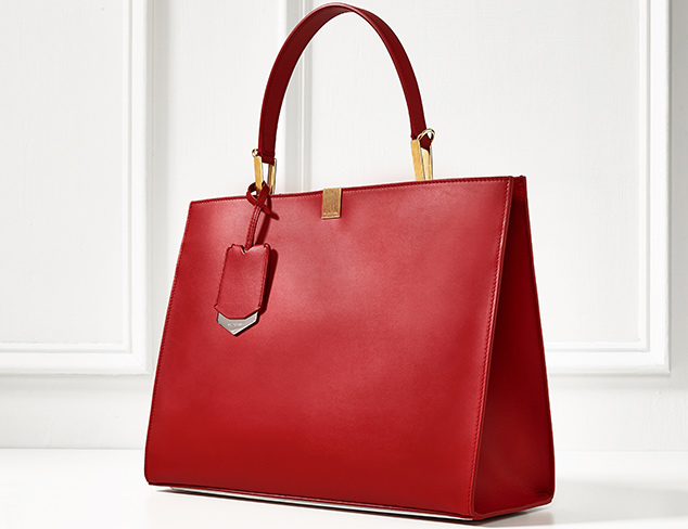 Balenciaga Le Dix Cabas Leather Tote