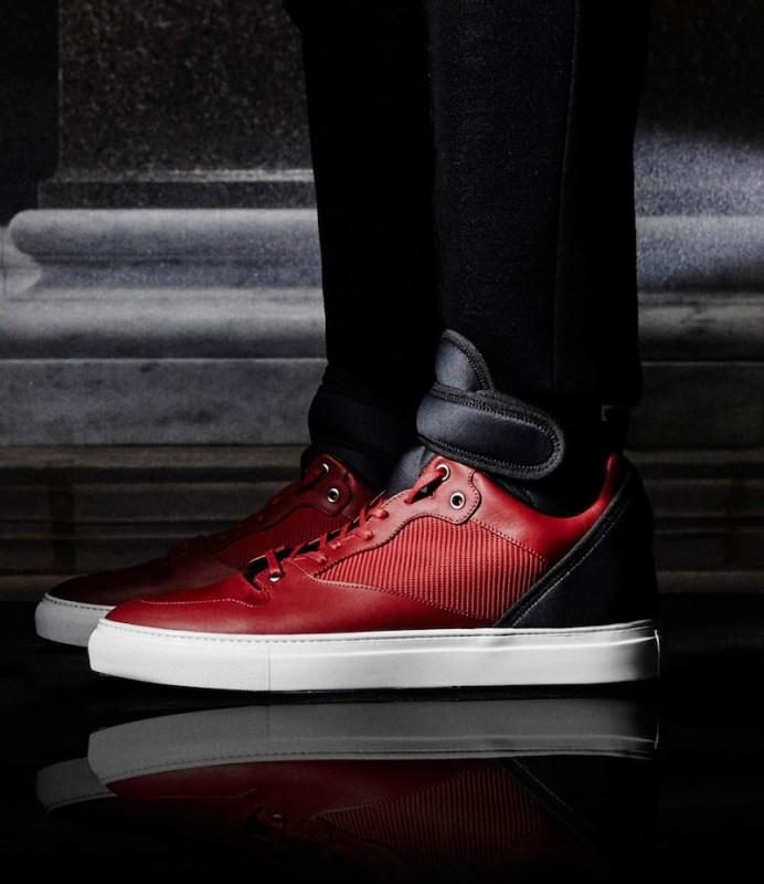 Balenciaga Neoprene-Strap High-Top Sneakers