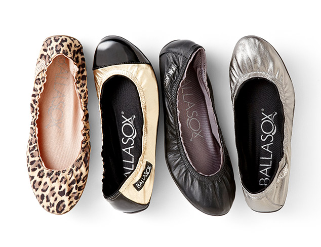 Ballet Flats feat. Ballasox by Corso Como at MYHABIT