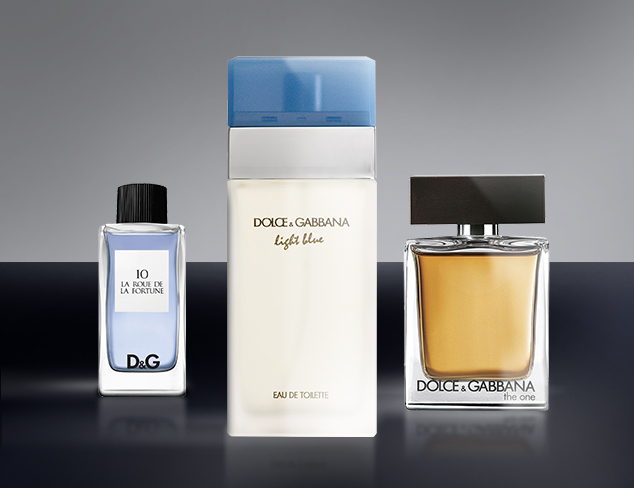 Designer Fragrances feat Dolce and Gabbana at MYHABIT