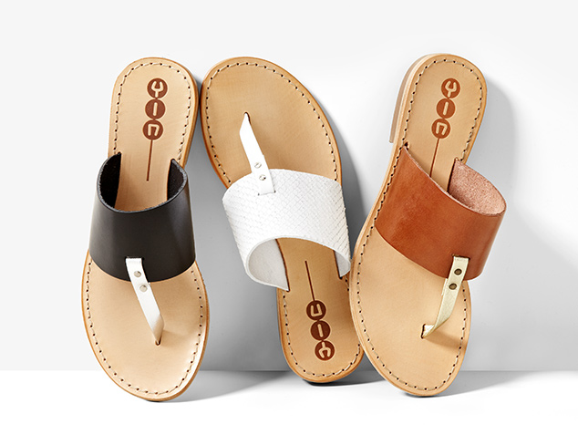 Ease Into Fall Sandals & More at MYHABIT