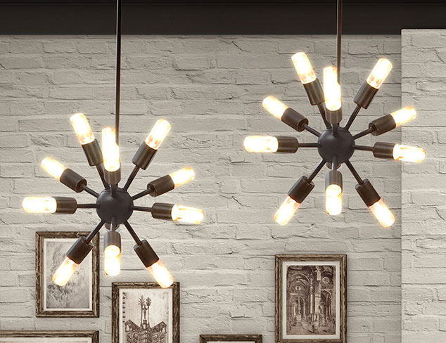 Invoke the Past Vintage-Inspired Industrial Lighting at MYHABIT