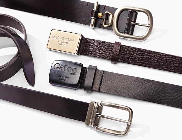 New Arrivals Designer Belts at MYHABIT