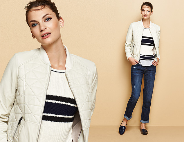 Prep for Fall Leather Jackets & Skinny Jeans at MYHABIT