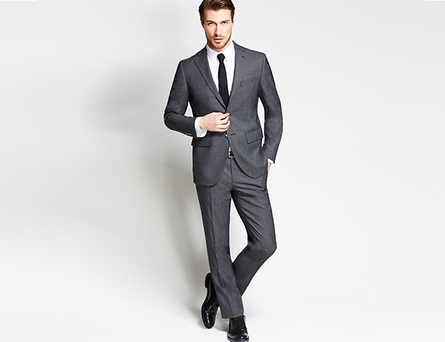 The Modern Fit Suiting at MYHABIT