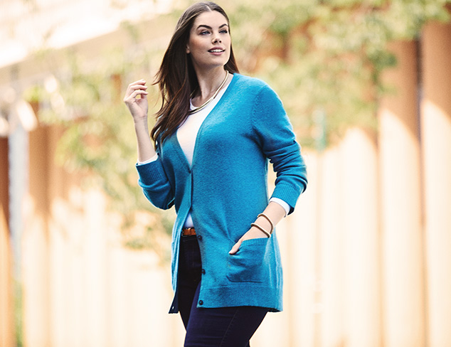 Under $139 100 Cashmere for Everyone at MYHABIT