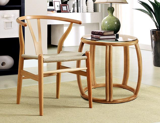 Under $399 Wooden Accent Furniture at MYHABIT