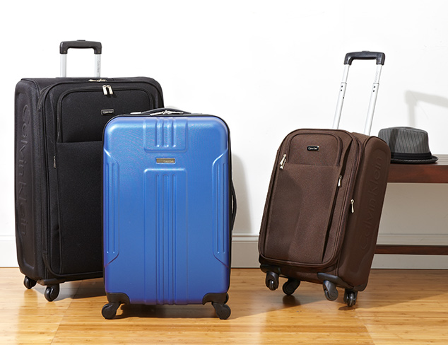 Up to 75 Off Calvin Klein Luggage at MYHABIT