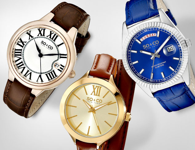 Up to 85 Off SO&CO Watches at MYHABIT