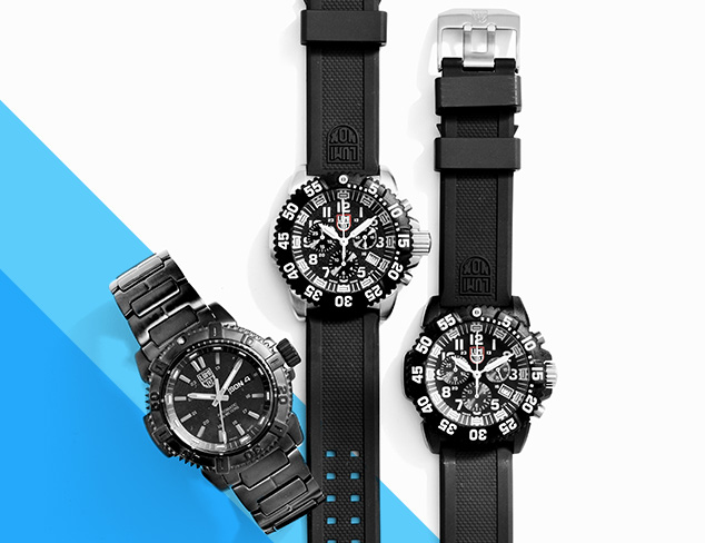 Water-Resistant Watches feat. Luminox at MYHABIT