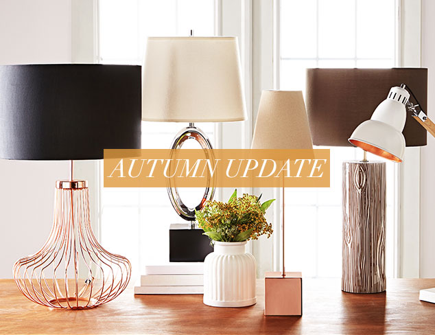 Autumn Update Lighting with Personality at MYHABIT