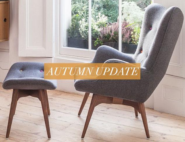 Autumn Update Make It Mid-Century at MYHABIT