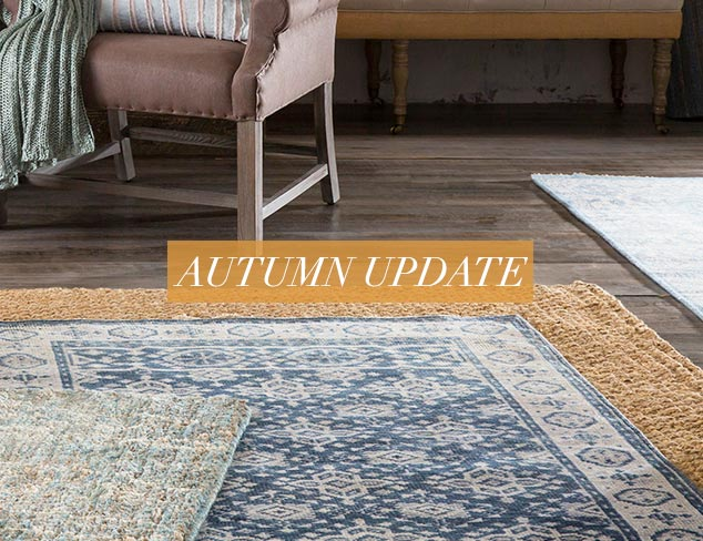Autumn Update Rugs for Layering at MYHABIT