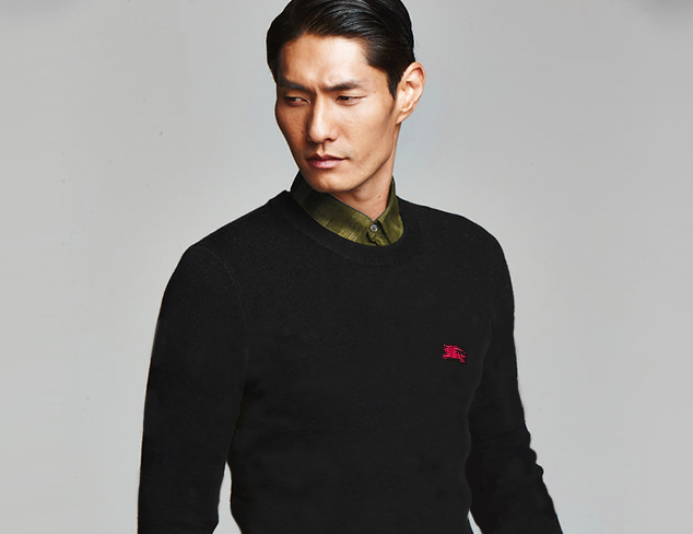 Cozy Up Fall Sweaters feat. Burberry at MYHABIT