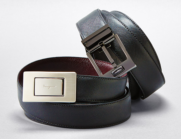 Designer Belts feat. Salvatore Ferragamo at MYHABIT