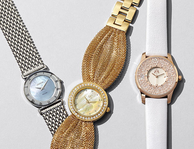Mother of Pearl Watches & Jewelry at MYHABIT