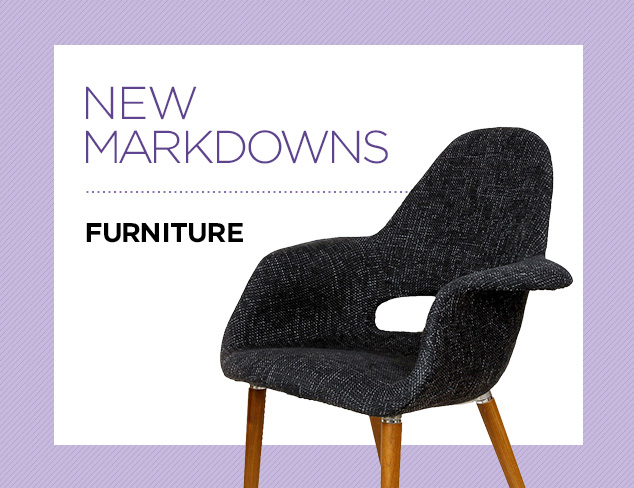 New Markdowns Furniture at MYHABIT