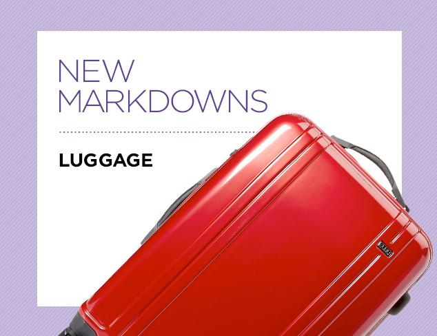 New Markdowns Luggage at MYHABIT