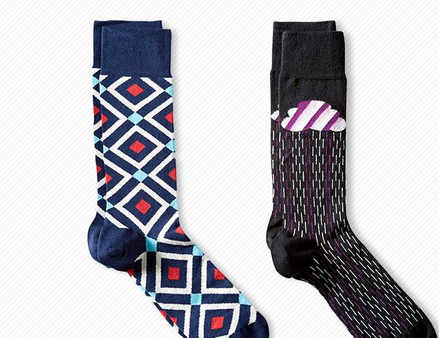 $12 & Under Jonathan Adler Socks at MYHABIT