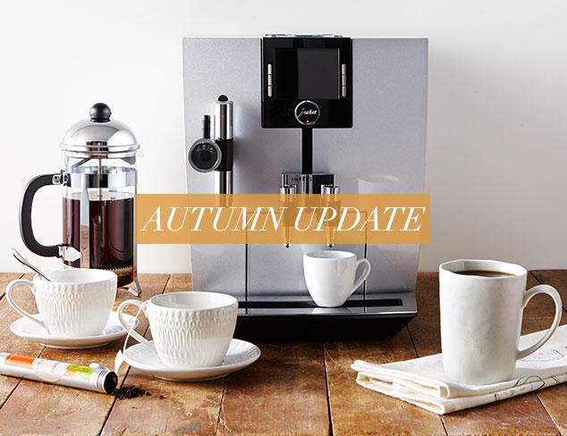 Autumn Update Coffee & Tea Time at MYHABIT