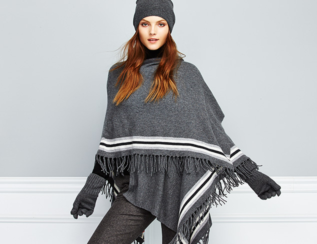 Chic & Cozy Wraps, Ponchos & More at MYHABIT