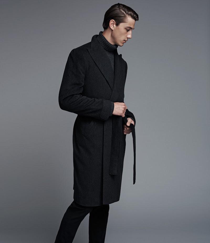 Cifonelli Cashmere Marcello Wrap Overcoat