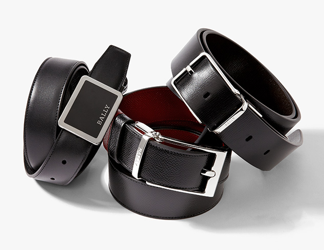 Classic Belts feat. Bally at MYHABIT
