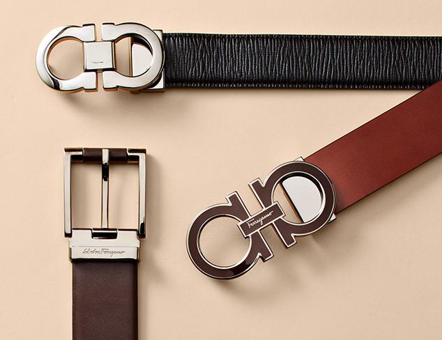 Designer Belts feat. Salvatore Ferragamo at MYHABIT