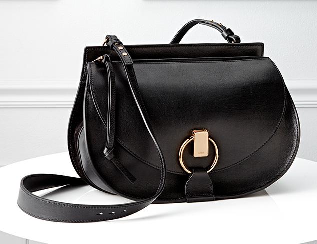 Leather Luxe Handbags at MYHABIT