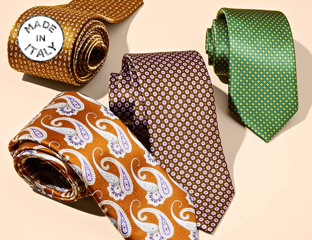Made In Italy Ties at MYHABIT
