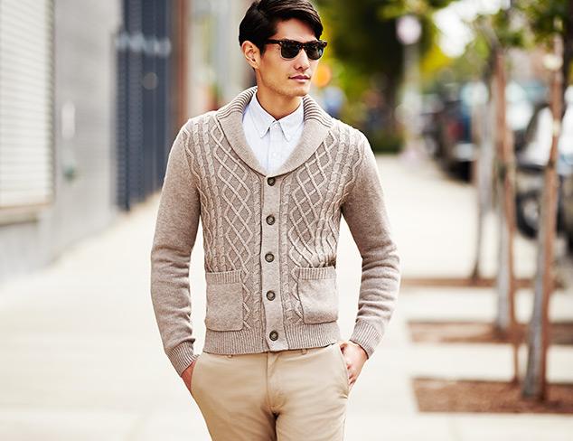 Toscano Linea Rosso Merino Sweaters at MYHABIT